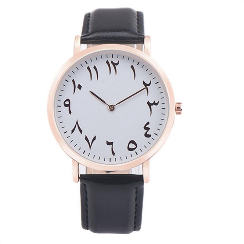 Luxury Fashion Arabic Numbers Women Watch Ultra thin Quartz Wristwatch Top Brand Lady Watch Montre Femme Clock Female Horloge luxury top brand guanqin watches fashion women rhinestone vintage wristwatch lady leather quartz watch female dress clock hours