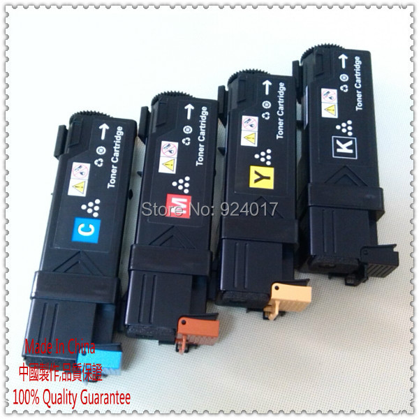 Color Toner Cartridge For Fuji <font><b>Xerox</b></font> Phaser <font><b>6140</b></font> 6140n 6140dn Laser Printer,For <font><b>Xerox</b></font> <font><b>6140</b></font> 6140n 6140dn Toner Cartridge,4 Colors image