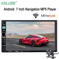 Autoradio 2 Din Android Bluetooth Car Stereo Support Mirror Link 3G WIFI USB Charger Car Radio