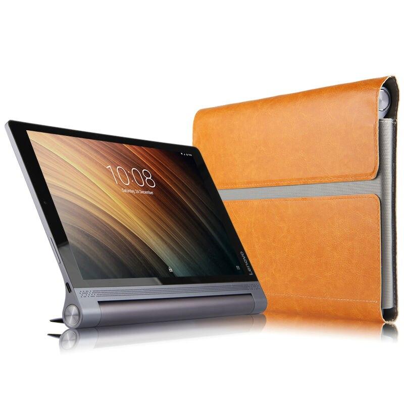 Lenovo Yoga B6000 Için Koruyucu Akıllı kapak Deri Tablet Için - Tablet Aksesuarları - Fotoğraf 3