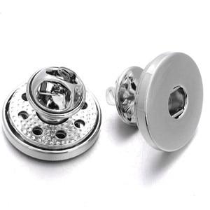 Женская металлическая брошка-Оснастка, 18 мм, для украшения свадьбы и рукоделия, модные аксессуары ZI041