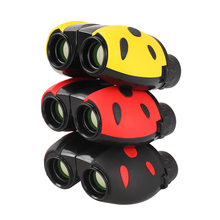 AOMEKIE Kid Binoculars 8X22 Ladybug Design Optical Glass Lens Outdoor Birdwatching Camping Portable Binocular Telescope Toy Gift