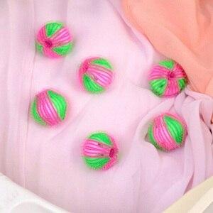 Image 4 - 6 ピース/パックマジック脱毛洗濯ボールの服パーソナルケア毛玉洗濯機の洗浄ボール