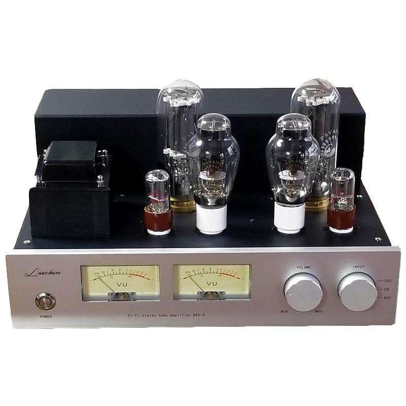 2x25 W 845 amplificateur à Tube sous vide 300B Drive 845 simple-end classe A 6SN7 préamplificateur haute puissance main échafaudage soudage