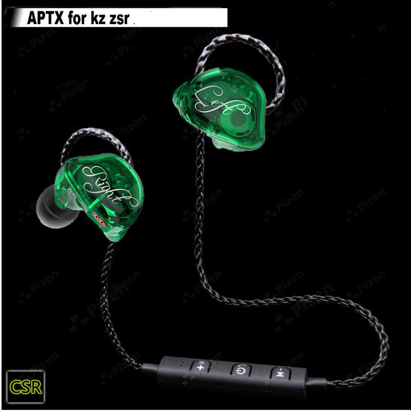 PIZEN BT66 CSR8645 obsługuje aptx bezprzewodowy Bluetooth mmcx kabel do Shure SE535 QKZ TRN V10 APT-X kabel uaktualnienie dla senfer dt6