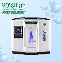 DEDAKJ DDT 1A/DDT 1B AC110V/220 В Регулируемая Portabl кислорода машина Генератор Воздухоочистители дома не Батарея питание