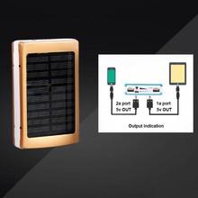 Dual USB Solar Mobile Power Bank Nesting Portable Battery Charger Box Camping Light New Arrival стоимость