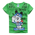 boys t shirt short sleeve 2016 new summer cotton cartoon baby t-shirt toddler tops tees children clothing