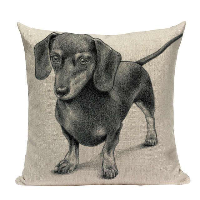 คุณภาพสูงปลอกหมอนสัตว์ตกแต่งหมอนสำหรับโซฟาหลายสีสุนัขโซฟาเบาะรองนั่งสำหรับห้องนั่งเล่น Customable