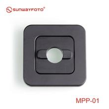 Sunwayfoto MPP-01 мини-пластинчатая посылка mate plate to Joins 2 штатива, аксессуары для штатива