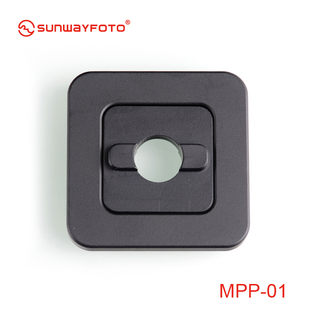 2 clamps + mate plate SUNWAYFOTO MCP-01 Mini-Clamp Package Arca RRS Compatible Sunway