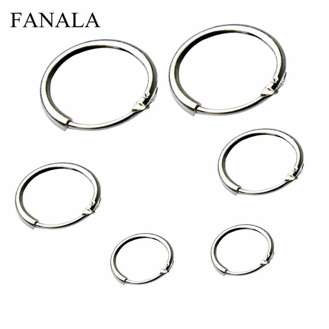 f691238b2 FANALA Hoops Earrings Women New Round Small Sleeper 3 Pairs Hoop Earrings  for Women Fashion Jewelry