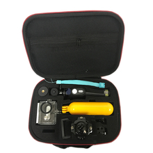 Для Xiaomi Yi аксессуары комплект оригинального качества сумка Bluetooth селфи монопод камеры Bluetooth пульт дистанционного управления для сяо Yi Xiaomi Yi