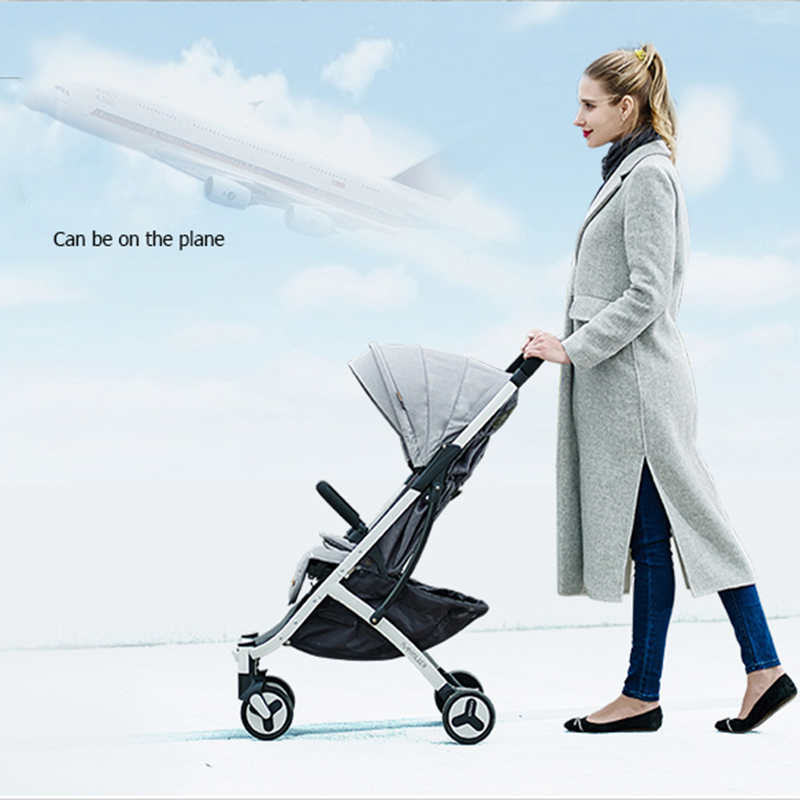 2017 Hot mom luxury baby carriages for newborns can sit can sleep baby stroller 2 in 1 babies pram free shipping to Russia все цены