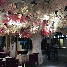 Bunch of Big Size Sakura Rare Japanese Cherry Blossoms Home Bonsai Artificial Blossom Fake