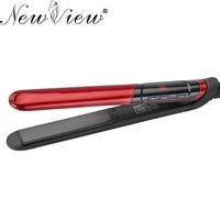 NewView Ceramic Hair Straightener Flat Iron LCD Professional Hair Curler Curling Straightening Irons Styler