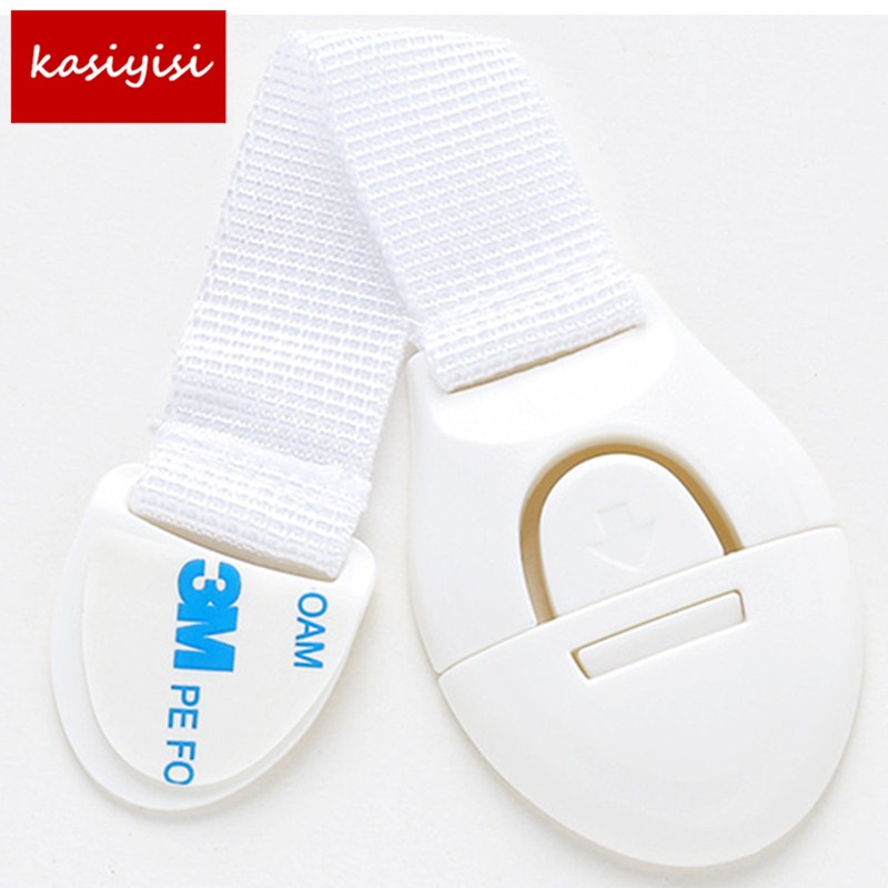 5pc Drawer Door Cabinet Cupboard  Baby Kids Safety Care Plastic Locks Straps Infant Baby Protection Toilet Safety Locks