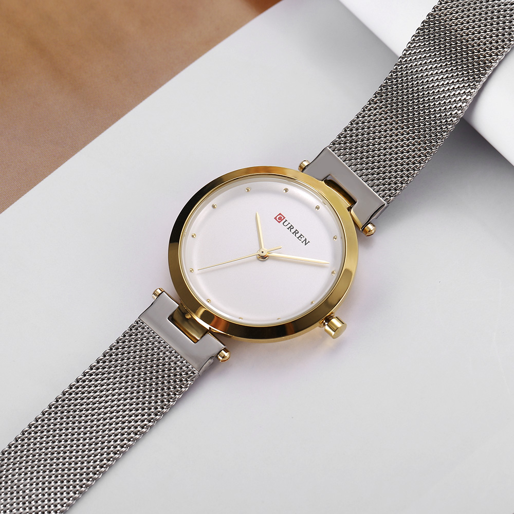 CURREN 9005 Luxury Women Watch Famous Brands Gold Fashion Design Bracelet Watches Ladies Women Wrist Watches Relogio Femininos wholesale drop shipping (19)