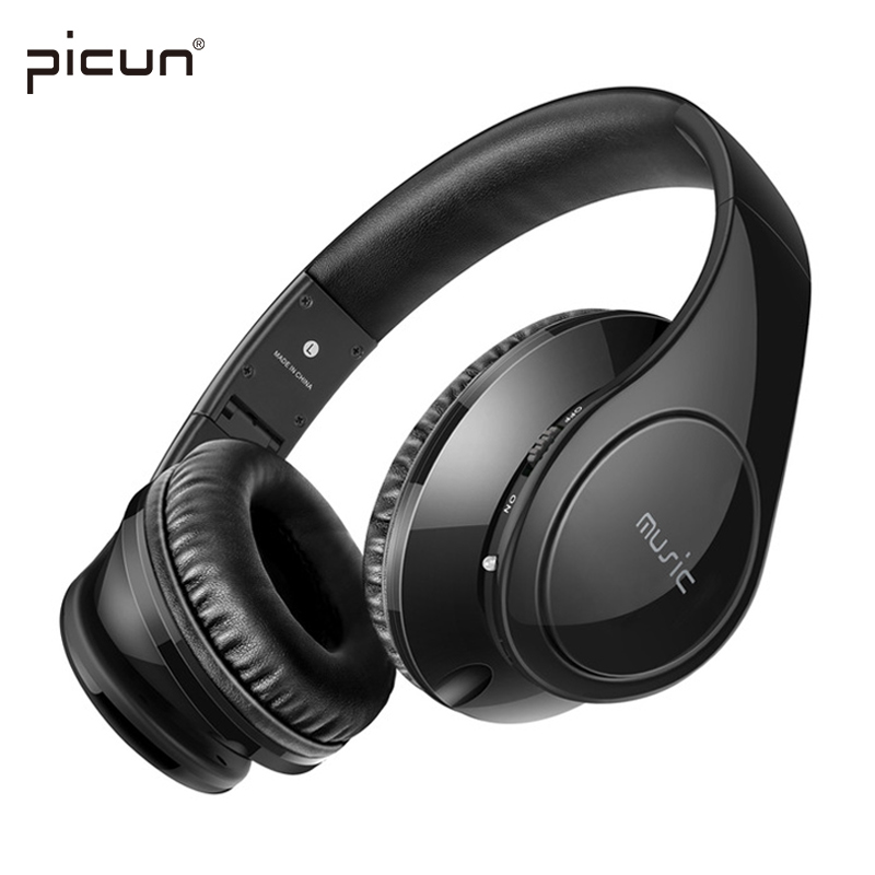 Picun P7 Wireless Bluetooth Headphone With Microphone/TF Card MP3 Bass Stereo Headset HIFI Music Earphone for Iphone Xiaomi PC syllable d900mini bluetooth 4 1 earphone sport wireless hifi headset music stereo headphone for iphone samsung xiaomi free ship