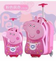 Hello kitty для женщин детский Багаж чемодан maletas y bolsas де viaje
