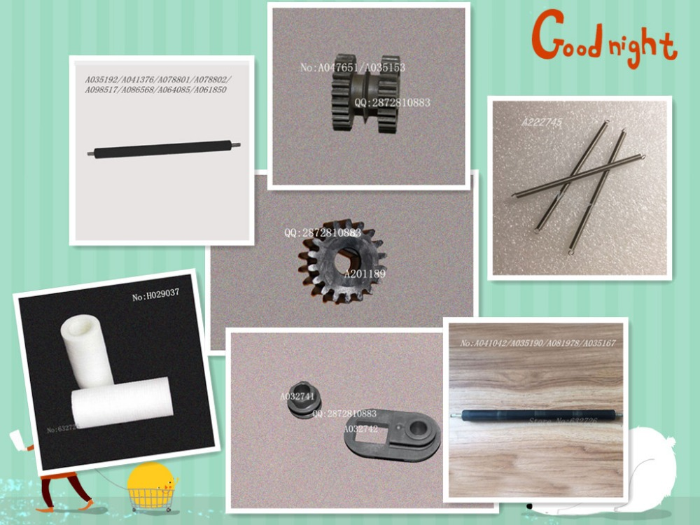 Noritsu 3501/3300/3021/Digital minilab Spare parts/Gear/roller/filter/spring/A086571/A222745/H086044/A047651/A201189/