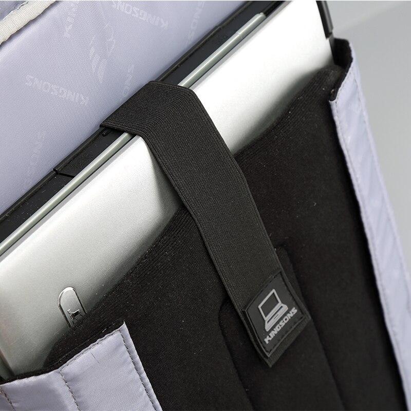 mochila antifurto carga usb externo Modelo Número : Ks3140w/ks3144w