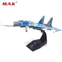 1 100 Sukhoi Su 27 Flanker Heavy Fighter Model Air Force Diecast Aircraft For Collections