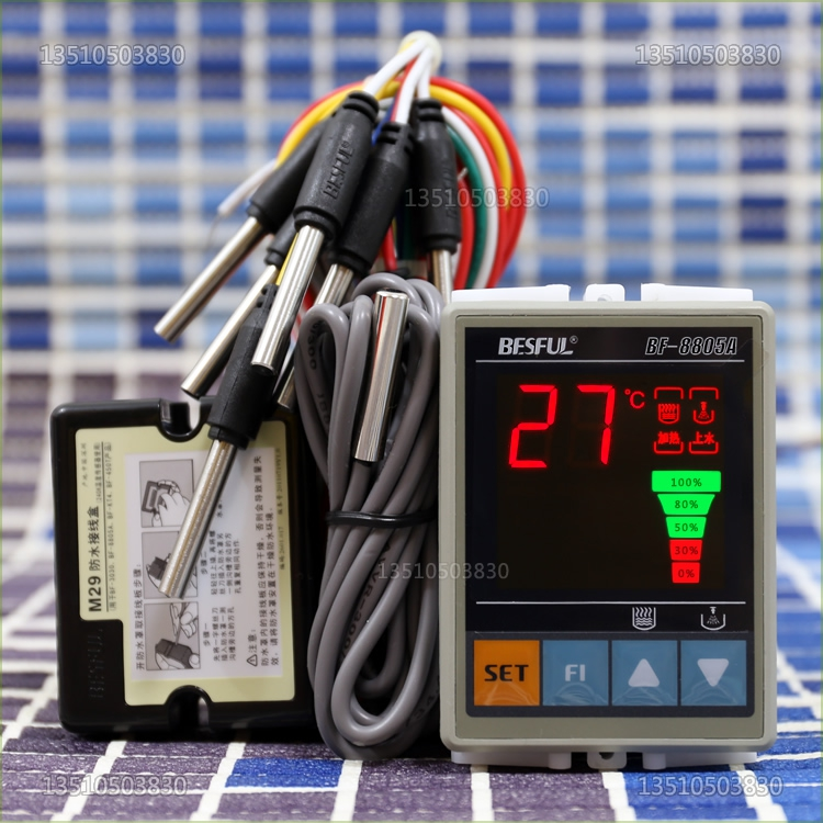 все цены на Free Shipping BF-8805A BESFUL tank constant temperature water controller temperature water level solar controller