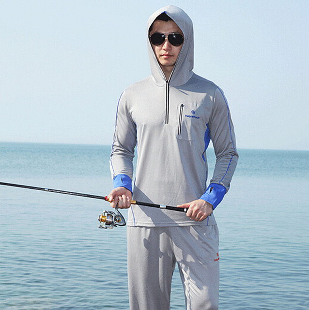 Super New men/women Brand fishing clothing sun protection clothing long  SA76