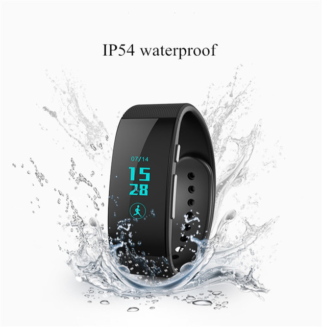 Unik3 discussão banda inteligente pulseira relógio Bluetooth atividade e sono Monitor pedômetro à prova d ' água rastreador de Fitness assista pulseira