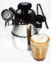 Cappuccino CX-25P Bellman Home Espresso Coffee Machine Can Be Used To Make Steam in Mocha Pot