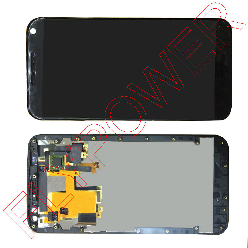 Black For motorola Moto X Style X3 XT1575 XT1572 XT1570 LCD Display Screen With Touch Digitizer + Frame Assembly Free Shipping  5pcs lot for motorola moto x style x3s x3 style xt1570 lcd display touch screen digitizer assembly with frame free dhl