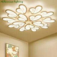 LED modern chandelier lights for living room bedroom light dining room lamp ceiling AC110 260V home light fixtures free delivery