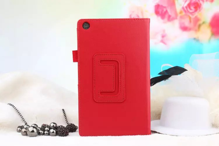 3 in 1 ,Top Quality Litchi Pattern Case Cover For Asus ZenPad 7.0 Z370 Z370CG + Screen Protector + Stylus