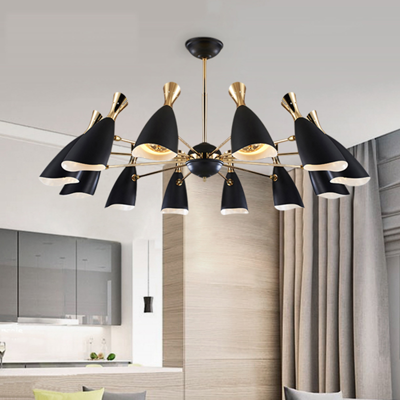 modern pendant lights for dining room kitchen Restaurant Coffee Bedroom Lighting pendant lamp indoor home moderne hanging lamp a1 master bedroom living room lamp crystal pendant lights dining room lamp european style dual use fashion pendant lamps