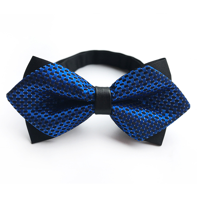 Formal Wedding Bowtie For Men Skinny Cravat Bowknot Arrow Double Bow Ties For Men Gravata Shirt Neckwear Papillon
