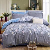 JU Fashion Duvet Cover Set Bed Cotton Linens Pillowcase 4pcs Bedding Bed Set Bedding Twin Full Queen Super King 5 size