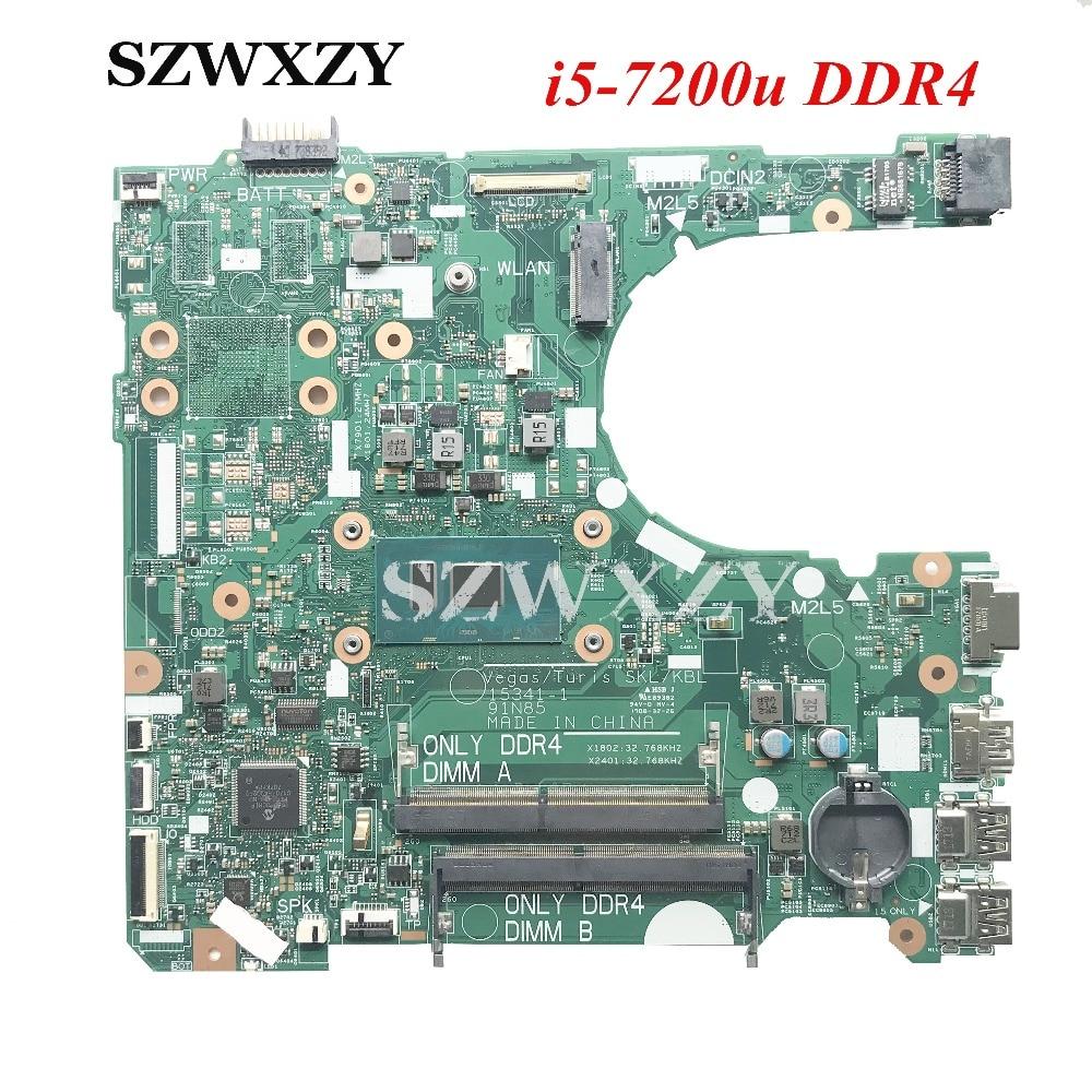 2 Hkxd Für Dell 3568 3468 Original Laptop Motherboard 15341-1 91n85 Cn-02hkxd 02 Hkxd Mit Sr2zu I5-7200u Ddr4 Ram Exquisite Handwerkskunst;