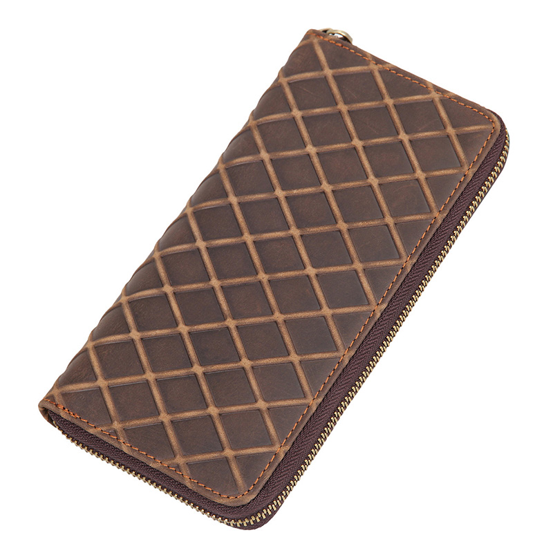 New Mens Wallet Fashion Clutch Purse New Long Genuine Leather Men Wallets Multi Card Holders Brown Function Men's Clutch Wallets new arrival 2017 wallet long vintage man wallets soft leather purse clutch designer card holders business handbags clips