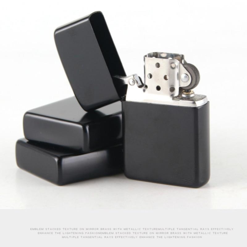 Metal Kerosene Cigarette Lighter Smoking Fuel Lighters Flintstone Kerosene Oil Lighter Smoke For Pipe Without Fuel Custom Name