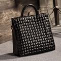 2017 Famous Luxury Brand Designer Women High Quality Top-handle Plaid Totes Handbag PU Leather Shoulder Messenger Crossbody Bag
