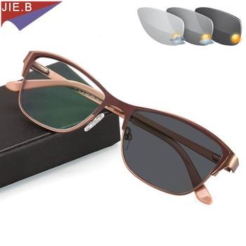8f65427cb6 2019 nuevas gafas de sol de moda gafas de lectura fotocrómicas gafas de  presbicia para mujer lentes de forro antiarañazos + 0,5 a + 6,0