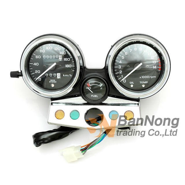 Motorcycle Gauges Cluster Speedometer Tachometer Odometer KM/H RPM Instrument Assembly For Honda CB400 95-98 year