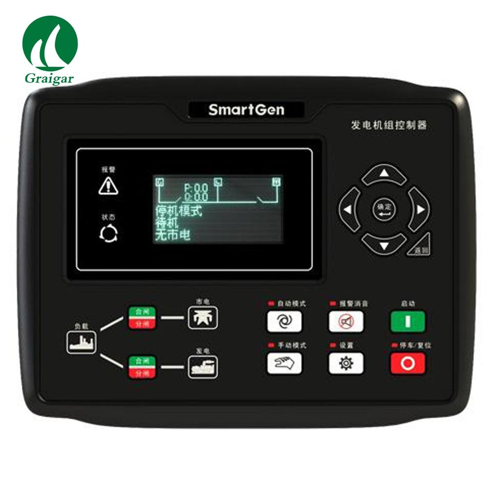 Contrôleur de groupe électrogène nouveau Smartgen HGM8120CAN avec RS485 + VFD + AMF + ETHERNET + GSM + J1939
