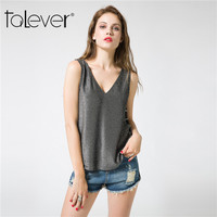 Talever 2017 Fashion Summer Women Tank Tops Clothes Sexy Hollow Out Women S T Shirt Open