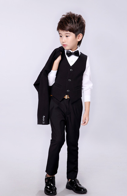 Boys Black Red Wedding Suits For Boy Formal Suit Kid Tuxedos Page