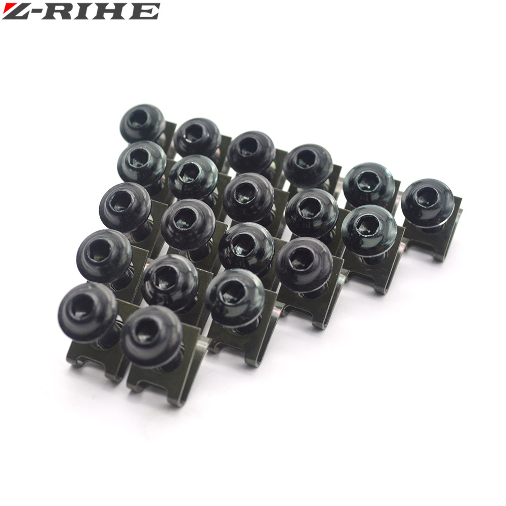20X 6MM cnc aluminum green motorcycle parts fairing bolts screws FOR BMW f650gs f650 650 gs f 650gs 2008 2009 2010 2011 2012 KTM in Covers Ornamental Mouldings from Automobiles Motorcycles