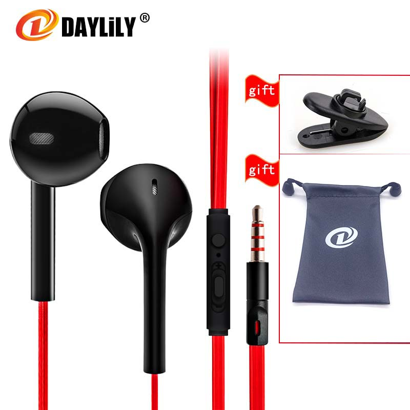 DAYLily D2 New music headphones sports fone de ouvido phone headset auriculares wire with microphone Earphone bass headphone Mp3 kz n1 headphones mini dual driver extra bass turbo wide sound audifonos headset field auriculares headphones dj fone de ouvido