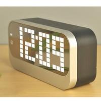 Magic Alarm Clock 4 Groups Of Table Clock Luminous Backlight 12 24 Hours Timers Snooze Desktop