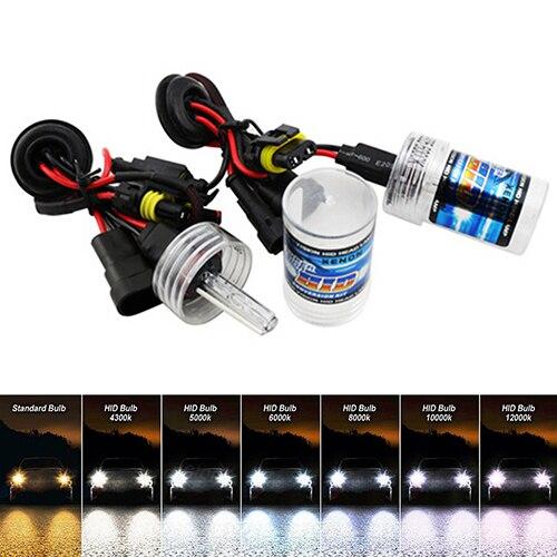 1 Pair 12V 55W Car Xenon HID Bulbs H1 H3 H7 H8/H9/H11 9005/HB3 9006/HB4 880/881